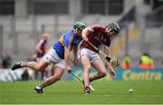 6 August 2017; Padraig Mannion of Galway is tackled by John O'Dwyer of Tipperary during the GAA Hurling All-Ireland Senior Championship Semi-Final match between Galway and Tipperary at Croke Park in Dublin. Photo by Ramsey Cardy/Sportsfile