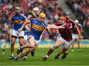 6 August 2017; Padraic Maher of Tipperary is tackled by Conor Whelan of Galway during the GAA Hurling All-Ireland Senior Championship Semi-Final match between Galway and Tipperary at Croke Park in Dublin. Photo by Ray McManus/Sportsfile