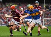 6 August 2017; Conor Whelan of Galway in action against Donagh Maher of Tipperary during the GAA Hurling All-Ireland Senior Championship Semi-Final match between Galway and Tipperary at Croke Park in Dublin. Photo by Ray McManus/Sportsfile