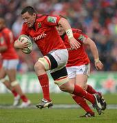 8 April 2012; James Coughlan, Munster. Heineken Cup Quarter-Final, Munster v Ulster, Thomond Park, Limerick. Picture credit: Stephen McCarthy / SPORTSFILE