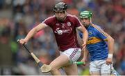 6 August 2017; Joseph Cooney of Galway in action against Noel McGrath of Tipperary during the GAA Hurling All-Ireland Senior Championship Semi-Final match between Galway and Tipperary at Croke Park in Dublin. Photo by Piaras Ó Mídheach/Sportsfile