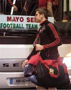 7 August 2017; Lee Keegan of Mayo arrives prior to the GAA Football All-Ireland Senior Championship Quarter-Final Replay match between Mayo v Roscommon at Croke Park, in Dublin. Photo by Ray McManus/Sportsfile