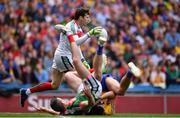 7 August 2017; David Clarke of Mayo during the GAA Football All-Ireland Senior Championship Quarter Final replay match between Mayo and Roscommon at Croke Park in Dublin. Photo by Ramsey Cardy/Sportsfile