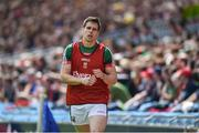 7 August 2017; Lee Keegan of Mayo warms up during the GAA Football All-Ireland Senior Championship Quarter-Final Replay match between Mayo v Roscommon at Croke Park, in Dublin. Photo by Daire Brennan/Sportsfile