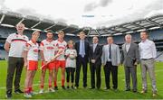 8 August 2017; In Croke Park this morning to officially launch the 22nd Annual Asian Gaelic Games sponsored again this year by FEXCO are, from left, Paraic McGrath, Vice President Asia Gaelic Games, Cora Staunton of Mayo, David Burke of Galway, Michael Fitzsimons of Dublin, Shannon Campbell, Stephen Buttimer, FEXCO Head of Global Operations, Joe Trolan, Chairperson of the Asian County Board, Mick Rock, Connacht Chairperson,  Paul Scales, President of Irish Thai Chamber of Commerce  and John Campbell. Photo by Sam Barnes/Sportsfile