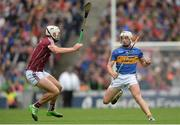 6 August 2017; Ronan Maher of Tipperary in action against Gearóid McInerney of Galway during the GAA Hurling All-Ireland Senior Championship Semi-Final match between Galway and Tipperary at Croke Park in Dublin. Photo by Piaras Ó Mídheach/Sportsfile