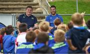 9 August 2017; Leinster's Tadhg Furlong and Sean O'Brien during the Bank of Ireland Leinster Rugby Summer Camp at De La Salle RFC in Glenamuck North, Dublin. Photo by Matt Browne/Sportsfile