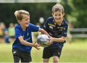 9 August 2017;  Luke McKenna in action against Cillian Roe during the Bank of Ireland Leinster Rugby Summer Camp at De La Salle RFC in Glenamuck North, Dublin. Photo by Matt Browne/Sportsfile