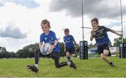 9 August 2017; Cillian Roe in action during the Bank of Ireland Leinster Rugby Summer Camp at De La Salle RFC in Glenamuck North, Dublin. Photo by Matt Browne/Sportsfile