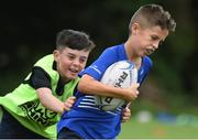 9 August 2017; Action from the Bank of Ireland Leinster Rugby School of Excellence event at Kings Hospital in Palmerstown, Dublin. Photo by Matt Browne/Sportsfile