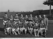 24 February 1963; The Munster team. Railway Cup Semi-Final, Munster v Ulster, Croke Park, Dublin. Picture credit: Connolly Collection / SPORTSFILE