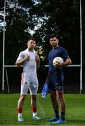 10 August 2017; SKINS ambassador Cian O'Sullivan, right, and Tyrone Senior Footballer Mattie Donnelly pictured at the launch of the new SKINS DNAmic TEAM range. The sports compression wear leader SKINS, have stepped up their on-field performance range through DNAmic TEAM. The range is designed exclusively for the demands of team sport. Check out skins.net for detailed information. Photo by Sam Barnes/Sportsfile