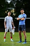 10 August 2017; SKINS ambassador Cian O'Sullivan, right,  and Tyrone Senior Footballer Mattie Donnelly pictured at the launch of the new SKINS DNAmic TEAM range. The sports compression wear leader SKINS, have stepped up their on-field performance range through DNAmic TEAM. The range is designed exclusively for the demands of team sport.Check out skins.net for detailed information. Photo by Sam Barnes/Sportsfile