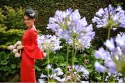 10 August 2017; Former Miss World Australia Erin Holland from Sydney, Australia, at Dublin Horse Show at the RDS in Ballsbridge, Dublin. Photo by Cody Glenn/Sportsfile