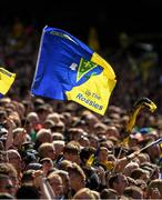 7 August 2017; Roscommon flags fly during the GAA Football All-Ireland Senior Championship Quarter-Final Replay match between Mayo v Roscommon at Croke Park, in Dublin. Photo by Ray McManus/Sportsfile