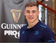 11 August 2017; Leinster's Garry Ringrose during the South African launch of Guinness PRO14 at Southern Sun Cullinan in Cape Town, South Africa. Photo by Carl Fourie/Sportsfile