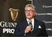 11 August 2017; Chairman of Pro14 Gerald Davies during the South African launch of Guinness PRO14 at Southern Sun Cullinan in Cape Town, South Africa. Photo by Carl Fourie/Sportsfile