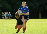 9 August 2017; Katie Whelan in action against Ailison Kelly during the Bank of Ireland Leinster Rugby School of Excellence event at Kings Hospital in Palmerstown, Dublin. Photo by Matt Browne/Sportsfile