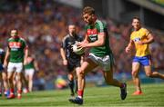 7 August 2017; Cillian O'Connor of Mayo during the GAA Football All-Ireland Senior Championship Quarter Final replay match between Mayo and Roscommon at Croke Park in Dublin. Photo by Ramsey Cardy/Sportsfile