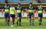 11 August 2017; Leinster players during the Pre-season Friendly match between USA Perpignan and Leinster at Aimé Giral Stadium in Perpignan, France. Photo by Alexandre Dimou/Sportsfile