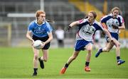 12 August 2017; Lauren Magee of Dublin in action against Emma Murray of Waterford during the TG4 Ladies Football All-Ireland Senior Championship Quarter-Final match between Dublin and Waterford at Nowlan Park in Kilkenny. Photo by Matt Browne/Sportsfile