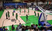 12 August 2017; A general view ahead of the FIBA U18 Women's European Basketball Championships match between Ireland and Poland at National Basketball Arena in Tallaght, Dublin. Photo by David Fitzgerald/Sportsfile