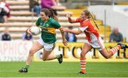 12 August 2017; Anna Galvin of Kerry in action against Marian McGuinness of Armagh during the TG4 Ladies Football All-Ireland Senior Championship Quarter-Final match between Kerry and Armagh at Nowlan Park in Kilkenny. Photo by Matt Browne/Sportsfile