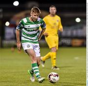 11 August 2017; Dean Dillon of Shamrock Rovers during the Irish Daily Mail FAI Cup first round match between Shamrock Rovers and Glenville at Tallaght Stadium in Tallaght, Dublin. Photo by Matt Browne/Sportsfile