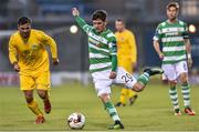 11 August 2017; Trevor Clarke of Shamrock Rovers in action against Glenville during the Irish Daily Mail FAI Cup first round match between Shamrock Rovers and Glenville at Tallaght Stadium in Tallaght, Dublin. Photo by Matt Browne/Sportsfile