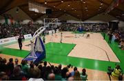 12 August 2017; A general view during the FIBA U18 Women's European Basketball Championships match between Ireland and Poland at National Basketball Arena in Tallaght, Dublin. Photo by David Fitzgerald/Sportsfile