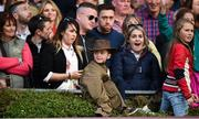 12 August 2017; Spectators during the Land Rover Puissance at the Dublin International Horse Show at RDS, Ballsbridge in Dublin. Photo by Cody Glenn/Sportsfile