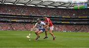 13 August 2017; Jake Dillon of Waterford in action against Mark Coleman of Cork during the GAA Hurling All-Ireland Senior Championship Semi-Final match between Cork and Waterford at Croke Park in Dublin. Photo by Ray McManus/Sportsfile