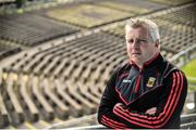 14 August 2017; Mayo manager Stephen Rochford in attendance after a Mayo Football Press Conference at Elvery's MacHale Park, Castlebar in Mayo. Photo by David Maher/Sportsfile