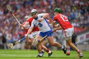 13 August 2017; Noel Connors of Waterford in action against Patrick Horgan and Alan Cadogan of Cork during the GAA Hurling All-Ireland Senior Championship Semi-Final match between Cork and Waterford at Croke Park in Dublin. Photo by Ray McManus/Sportsfile
