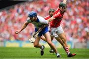 13 August 2017; Michael Walsh of Waterford is tackled by Mark Coleman of Cork during the GAA Hurling All-Ireland Senior Championship Semi-Final match between Cork and Waterford at Croke Park in Dublin.  Photo by Brendan Moran/Sportsfile