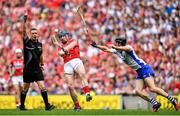 13 August 2017; Conor Lehane of Cork in action against Conor Gleeson of Waterford during the GAA Hurling All-Ireland Senior Championship Semi-Final match between Cork and Waterford at Croke Park in Dublin.  Photo by Brendan Moran/Sportsfile