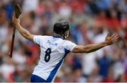 13 August 2017; Jamie Barron of Waterford celebrates scoring his side's fourth goal during the GAA Hurling All-Ireland Senior Championship Semi-Final match between Cork and Waterford at Croke Park in Dublin. Photo by Piaras Ó Mídheach/Sportsfile