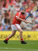 13 August 2017; Johnny Meares, Ballyforan NS, Co Roscommon, representing Cork, during the INTO Cumann na mBunscol GAA Respect Exhibition Go Games at half time during the GAA Hurling All-Ireland Senior Championship Semi-Final match between Cork and Waterford at Croke Park in Dublin. Photo by Piaras Ó Mídheach/Sportsfile