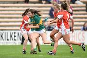 12 August 2017; Anna Galvin of Kerry in action against Armagh during the TG4 Ladies Football All-Ireland Senior Championship Quarter-Final match between Kerry and Armagh at Nowlan Park in Kilkenny. Photo by Matt Browne/Sportsfile
