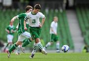 7 May 2012; Mark O'Brien, NDSL/DDSL. John Giles Foundation Dublin Walk of Dream match, DDSL, green, v NDSL/SDFL, white, Aviva Stadium, Lansdowne Road, Dublin. Picture credit: Stephen McCarthy / SPORTSFILE