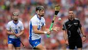 13 August 2017; Maurice Shanahan of Waterford scores a late second half point watched by team-mate Pauric Mahony and referee James Owens during the GAA Hurling All-Ireland Senior Championship Semi-Final match between Cork and Waterford at Croke Park in Dublin. Photo by Piaras Ó Mídheach/Sportsfile