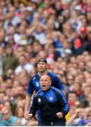 13 August 2017; Waterford manager Derek McGrath, front, and selector Dan Shanahan during the GAA Hurling All-Ireland Senior Championship Semi-Final match between Cork and Waterford at Croke Park in Dublin. Photo by Piaras Ó Mídheach/Sportsfile