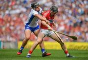 13 August 2017; Damian Cahalane of Cork is tackled by Jake Dillon of Waterford during the GAA Hurling All-Ireland Senior Championship Semi-Final match between Cork and Waterford at Croke Park in Dublin. Photo by Brendan Moran/Sportsfile