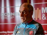 18 August 2017; Tyrone manager Mickey Harte during a Tyrone Football Press Conference at Tyrone Centre of Excellence, in Garvaghy, Co. Tyrone. Photo by Oliver McVeigh/Sportsfile