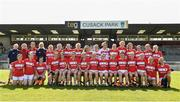 19 August 2017; The Cork squad before the TG4 Ladies Football All-Ireland Senior Championship Quarter-Final match between Cork and Galway at Cusack Park in Westmeath. Photo by Matt Browne/Sportsfile