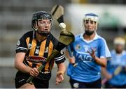 19 August 2017; Julieann Malone of Kilkenny in action against Eimear McCarthy of Dublin during the All-Ireland Senior Camogie Championship Semi-Final between Dublin and Kilkenny at the Gaelic Grounds in Limerick. Photo by Diarmuid Greene/Sportsfile