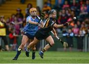 19 August 2017; Katie Power of Kilkenny in action against Aisling Carolan of Dublin during the All-Ireland Senior Camogie Championship Semi-Final between Dublin and Kilkenny at the Gaelic Grounds in Limerick. Photo by Diarmuid Greene/Sportsfile
