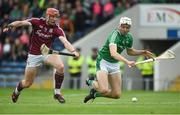 19 August 2017; Conor Whelan of Galway in action against Kyle Hayes of Limerick during the Bord Gáis Energy GAA Hurling All-Ireland U21 Championship Semi-Final match between Galway and Limerick at Semple Stadium in Tipperary. Photo by Daire Brennan/Sportsfile