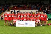 19 August 2017; The Cork squad ahead of the All-Ireland Senior Camogie Championship Semi-Final between Cork and Galway at the Gaelic Grounds in Limerick. Photo by Diarmuid Greene/Sportsfile