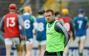 19 August 2017; Limerick manager Pat Donnelly before the Bord Gáis Energy GAA Hurling All-Ireland U21 Championship Semi-Final match between Galway and Limerick at Semple Stadium in Tipperary. Photo by Piaras Ó Mídheach/Sportsfile